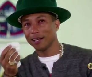 Pharrell Williams and reaction image