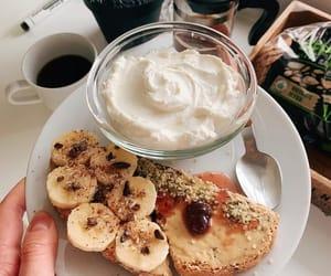 breakfast, dinner, and fruit image