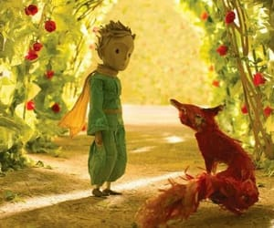 fox, le petit prince, and little prince image
