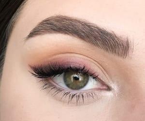 make up, eyeshadow, and girl image