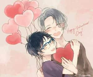anime, yaoi, and couple image