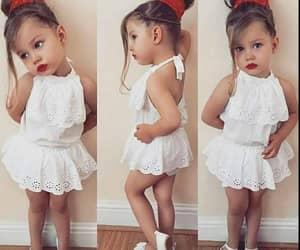 adorable, girl, and kids image