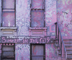 pink, city, and summer image