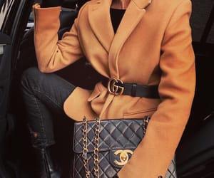 coat, gucci, and fashion image