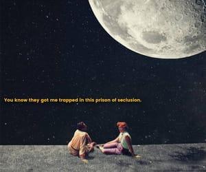 lyric, moon, and prison image