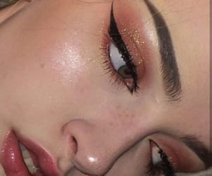 collections, eyes, and lipstick image