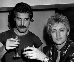 band, Queen, and Freddie Mercury image