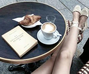 coffee, girl, and paris image