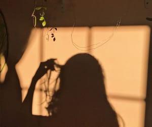 aesthetic, shadow, and art image