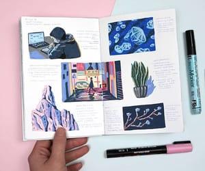 art, writing, and bujo image