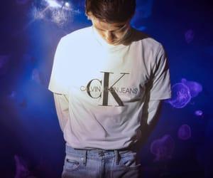 exo, sehun, and Calvin Klein image