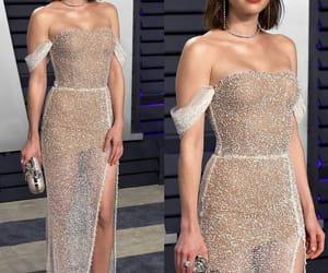 dress, awards, and emma roberts image