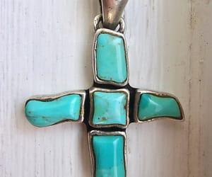 etsy, gemstone pendant, and religious pendant image