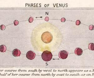 Venus, planet, and sun image