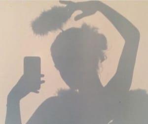 aesthetic, angel, and shadow image