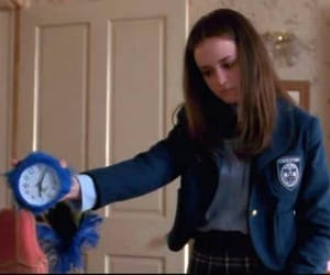 clock, gilmore girls, and rory gilmore image