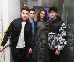 Nina Dobrev, jonas brothers, and Joe Jonas image