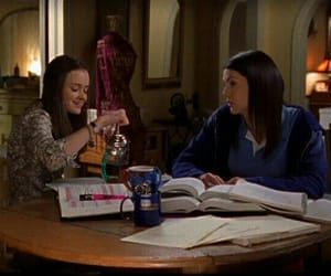 gilmore girls, rory gilmore, and study image