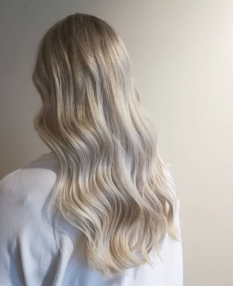 blonde, curls, and fashion image