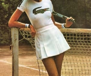 tennis, lacoste, and vintage image