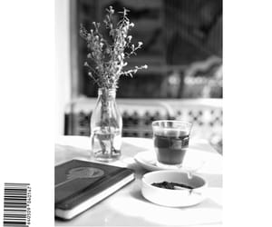 black and white, notebook, and book image