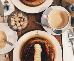 caffee, coffee, and delicious image