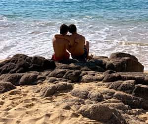 amor, beach, and aristemo image