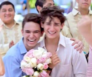 amor, gay, and kiss image