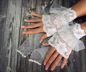 etsy, wrist cuffs, and prom dress image