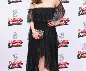 actress, black dress, and celebrity image