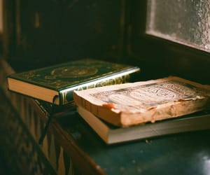 book, quran, and 35mm image