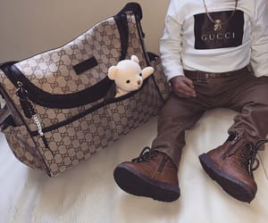 baby boy, fendi, and gucci image