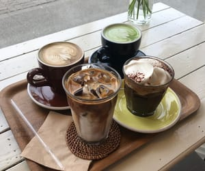 aesthetics, brown, and cafe image
