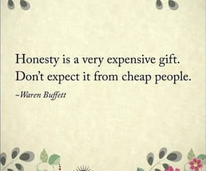 honesty, warren buffett, and cheap people image