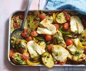 bake, grill, and basil herb image