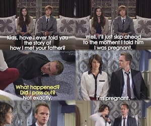 barney, how i met your mother, and robin image