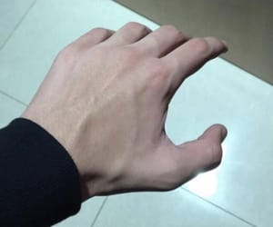 aesthetic, hand, and black image