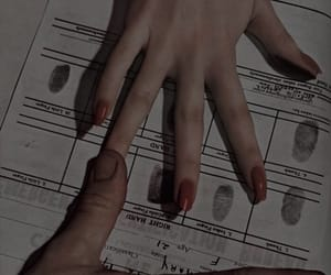 girls, theme, and hands image