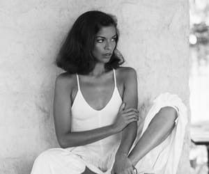 bianca jagger, black and white, and style image
