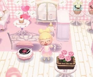 aesthetic, animal crossing, and pastel image