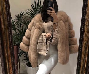 fashion, fur, and outfit image