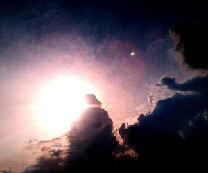 beautiful, rays, and clouds image
