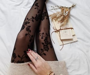 clothes, nylons, and outfit image