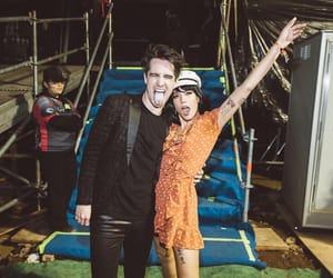 brendon urie, panic! at the disco, and halsey image