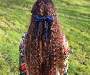 beautiful, bow, and braid image
