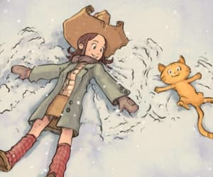animation, snow, and cute image