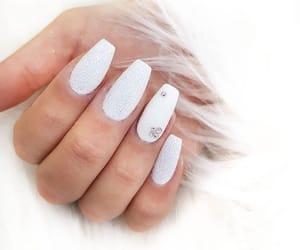 glitter, nails, and princess image