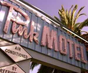 pink, aesthetic, and motel image