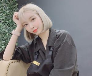 blonde, korean girl, and ulzzang image