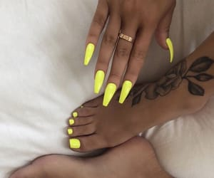 claws, manicure, and pedicure image